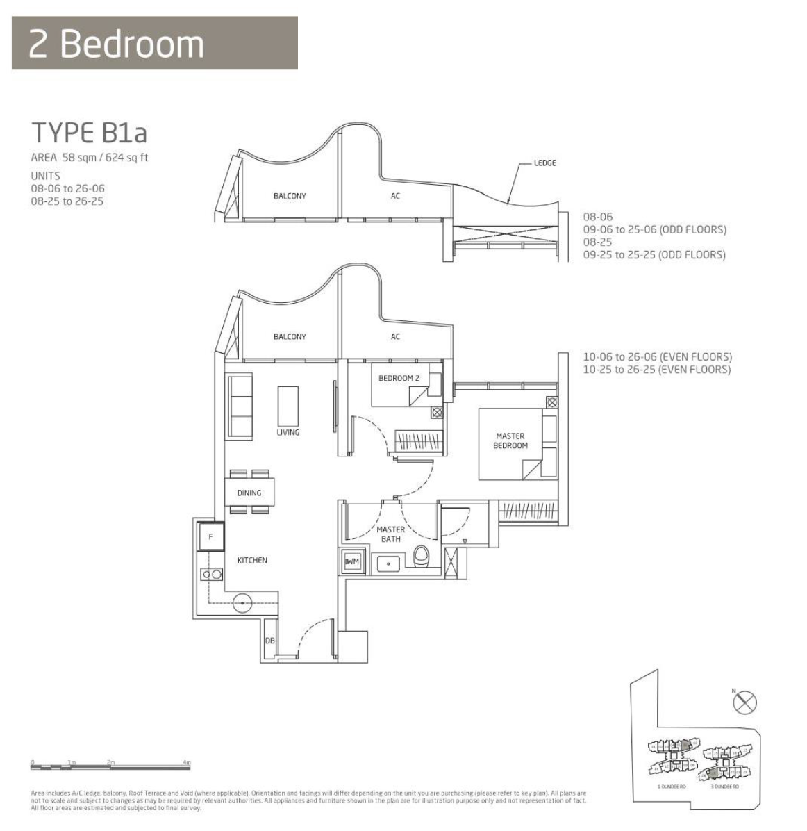 Queens Peak 2 bedroom floor plan type B1a queens peak floor plan showflat hotline 61008935 showroom ke70 wiring diagram pdf at bakdesigns.co