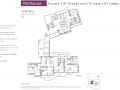 Queens Peak floor plan - Penthouse type PH1