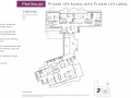 Queens Peak floor plan - Penthouse type PH3