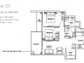 Rezi 24 floor plan 2 bedroom
