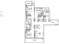 Rezi 24 floor plan 3 bedroom
