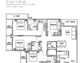 Rezi 24 floor plan 4 bedroom