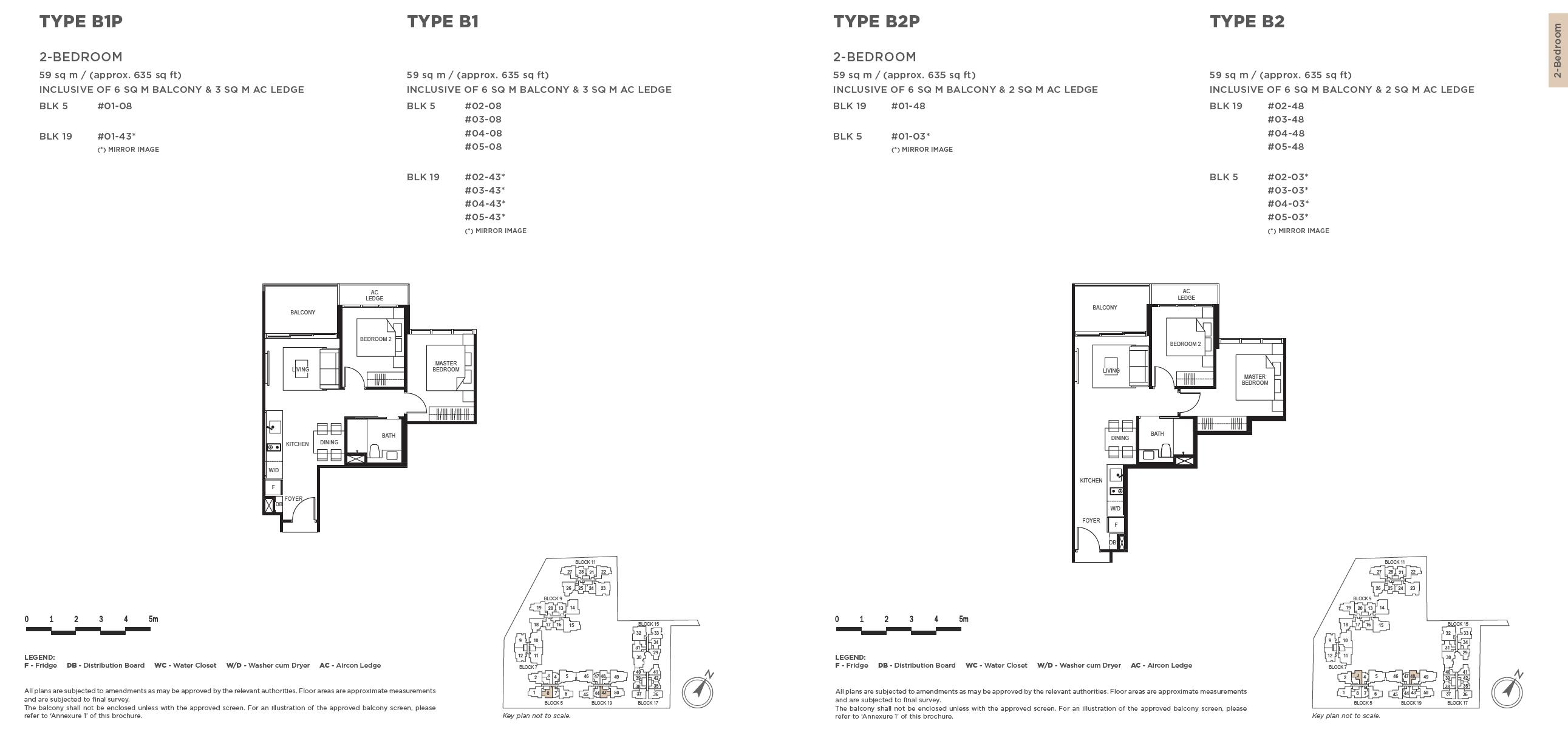 The-Gazania-2-bedroom-floor-plan