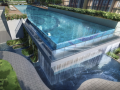 The-Gazania-50m-Lap-Pool-Water-Wall