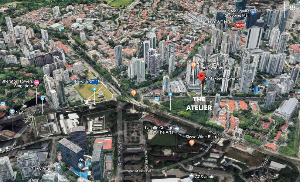 The-Atelier-Condo-Location