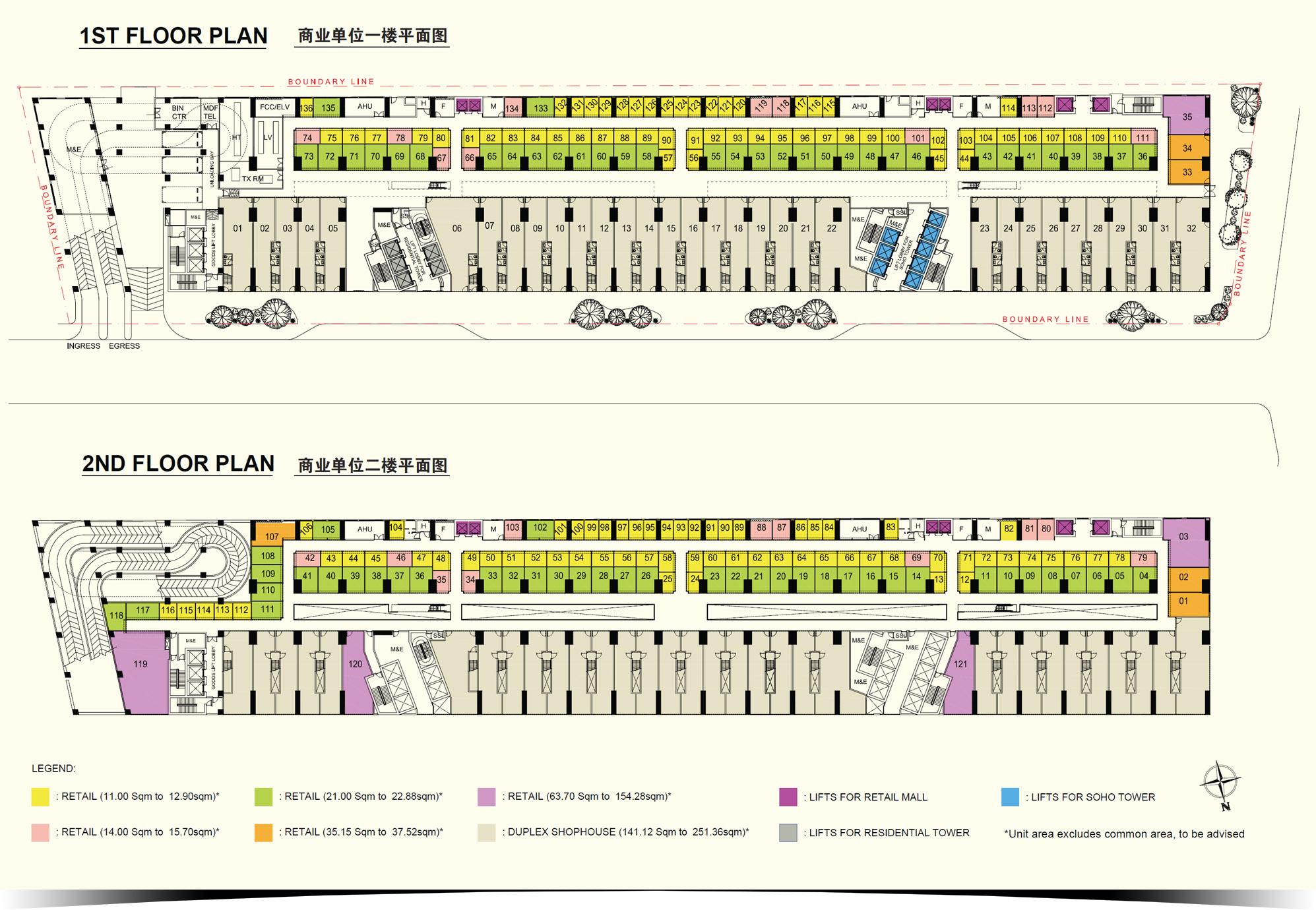 the bridge commercial floor plan