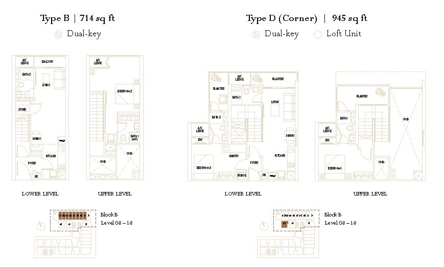 The Luxe KLCC Floor Plan1