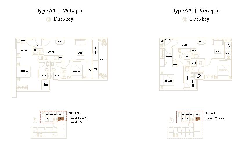 The Luxe KLCC Floor Plan2