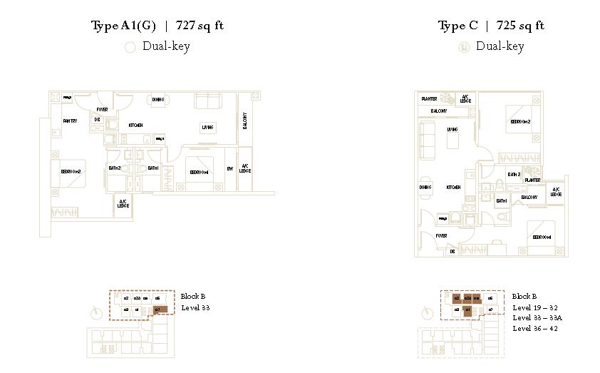 The Luxe KLCC Floor Plan3