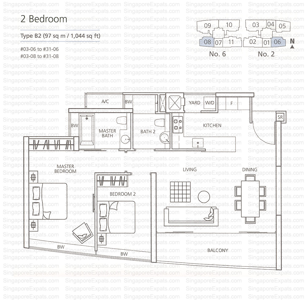 Martin modern floor plan showflat hotline 65 61008935 for Modern site plan