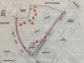 Martin Residence site plan (draft)