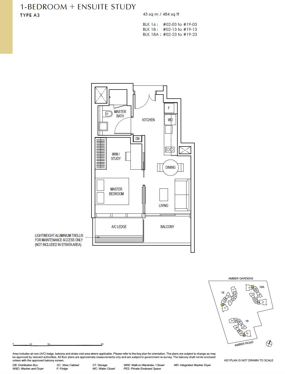 Amber-Park-1ensuite-study-floor-plan