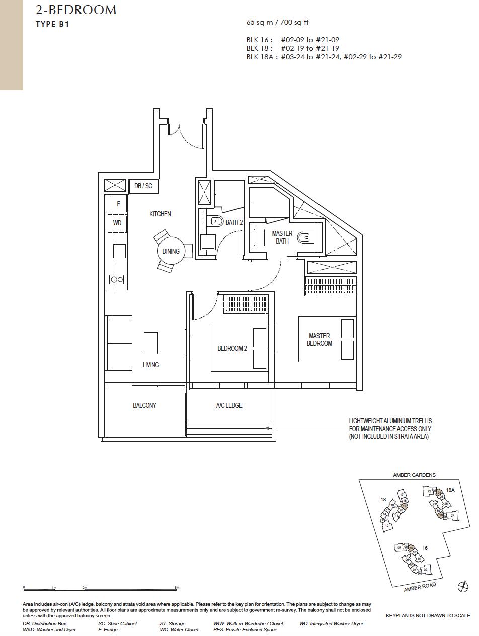 Amber-Park-2-bedroom-floor-plan