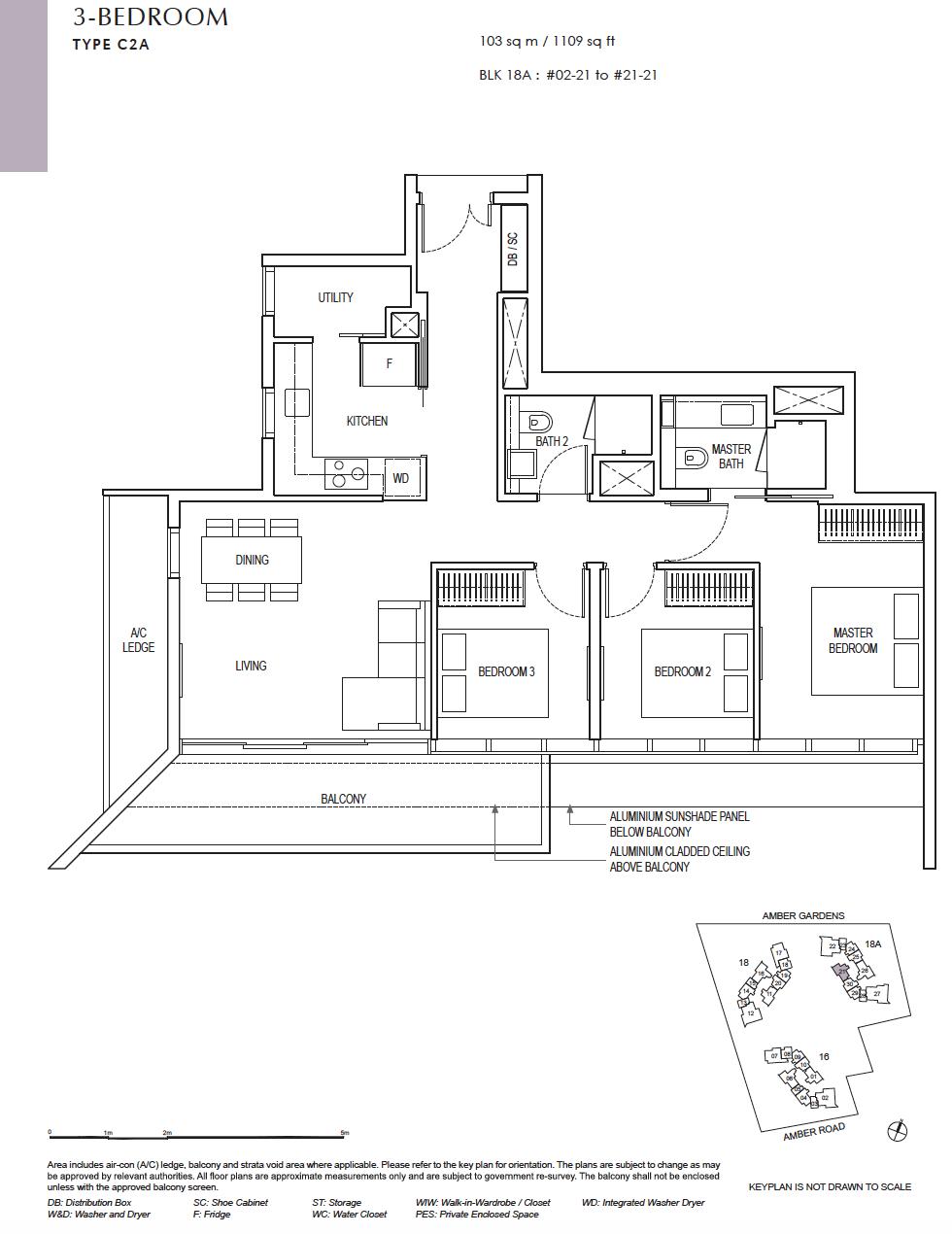 Amber-Park-3-bedroom-floor-plan
