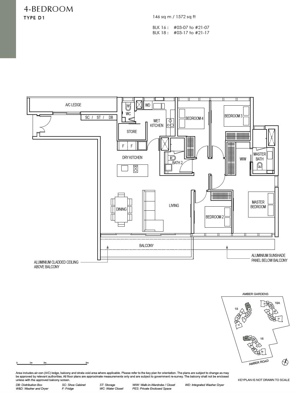 Amber-Park-4-bedroom-floor-plan