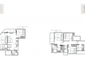 The Ramford floor plan 2br