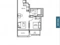 TRE VER floor plan 1 br