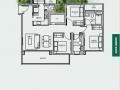 TRE VER floor plan 3 br C6