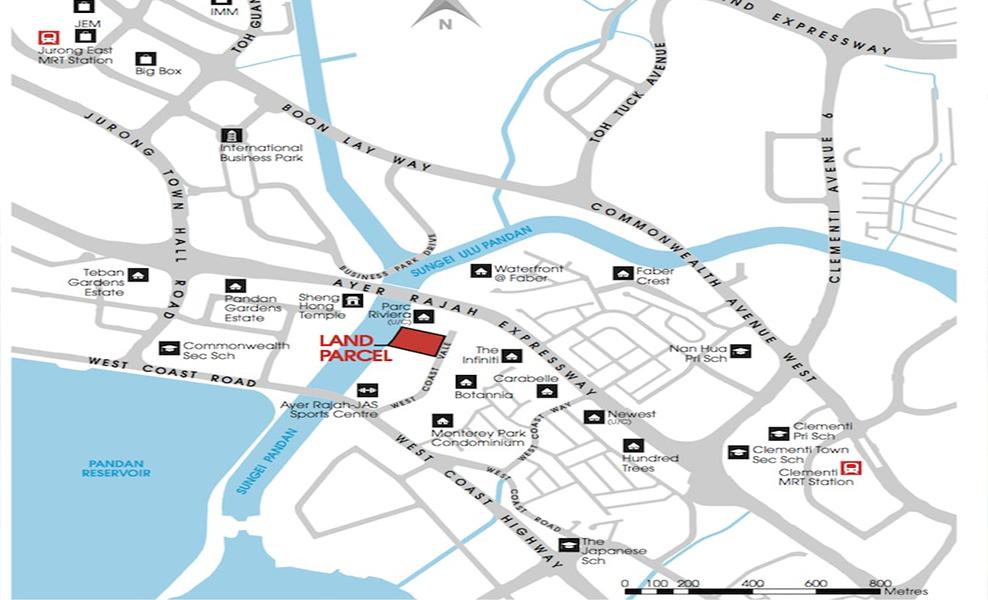 Twin-Vew-Condo-Location-Map