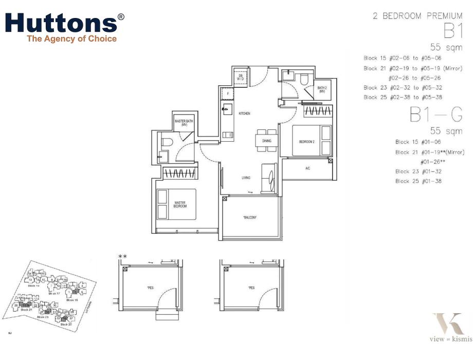 View-at-Kismis-2-bedroom-premium-floor-plan