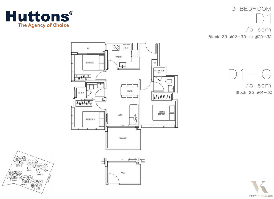 View-at-Kismis-3-bedroom-floor-plan