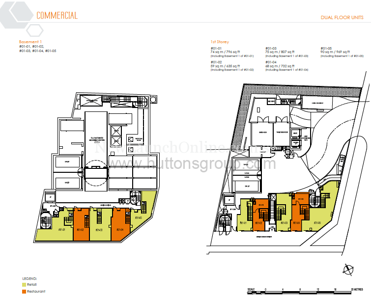 Ascent @ 456 Commercial Floor Plan