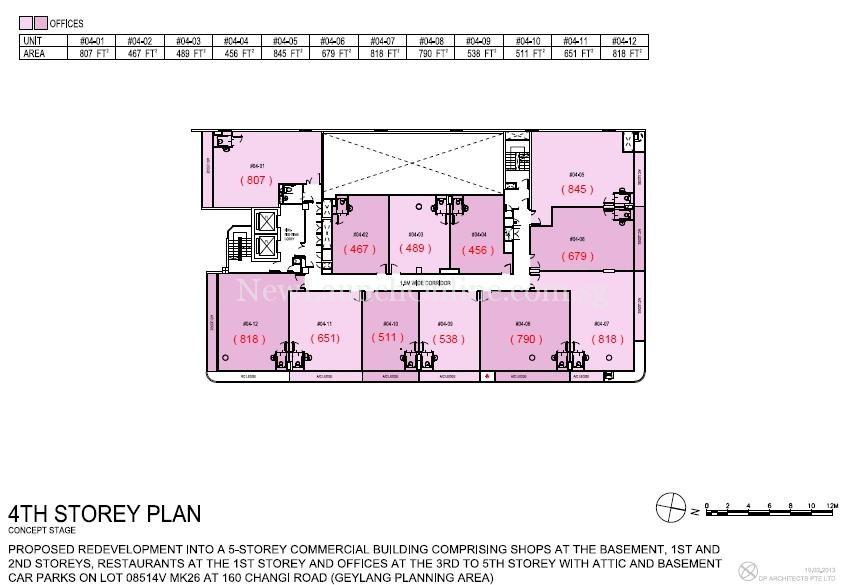 Hexacube 4th Storey Floor Plan