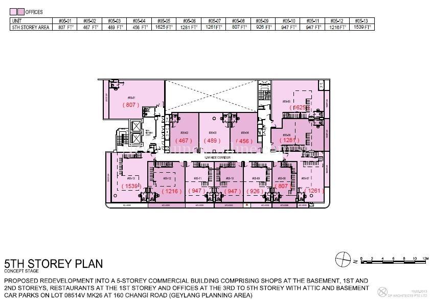 Hexacube 5th Storey Floor Plan