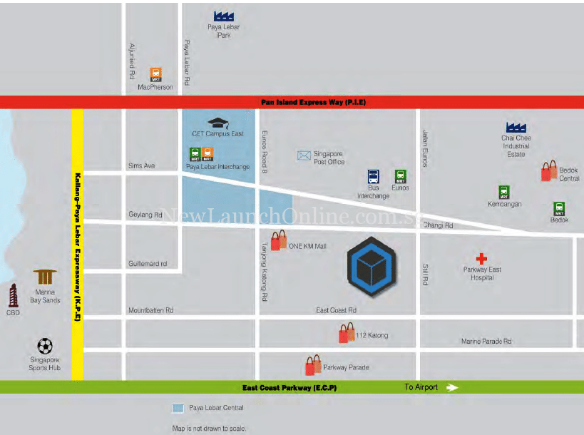 Hexacube Location Map