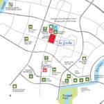 La Fiesta Location Map