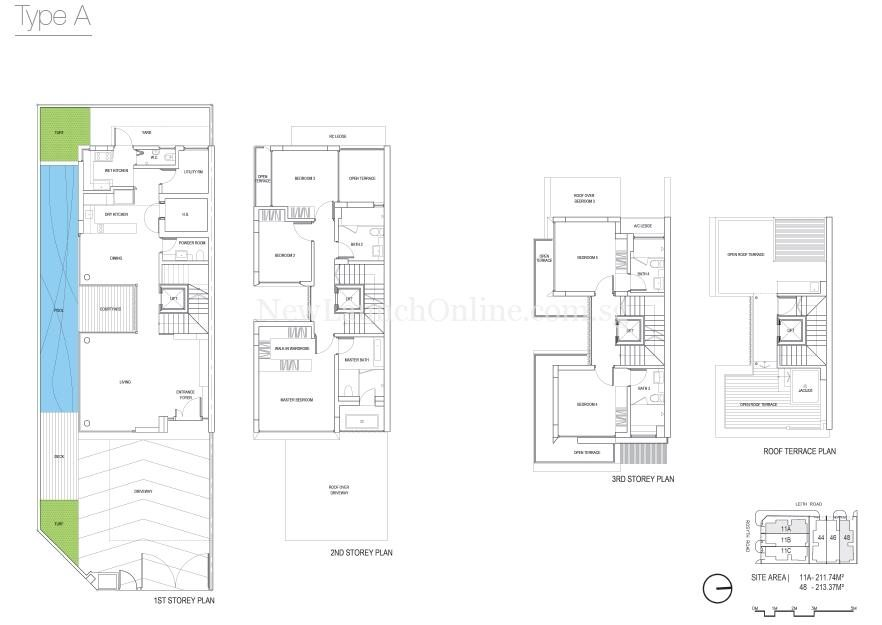 The Rosyth Collection Floor Plan-Type A