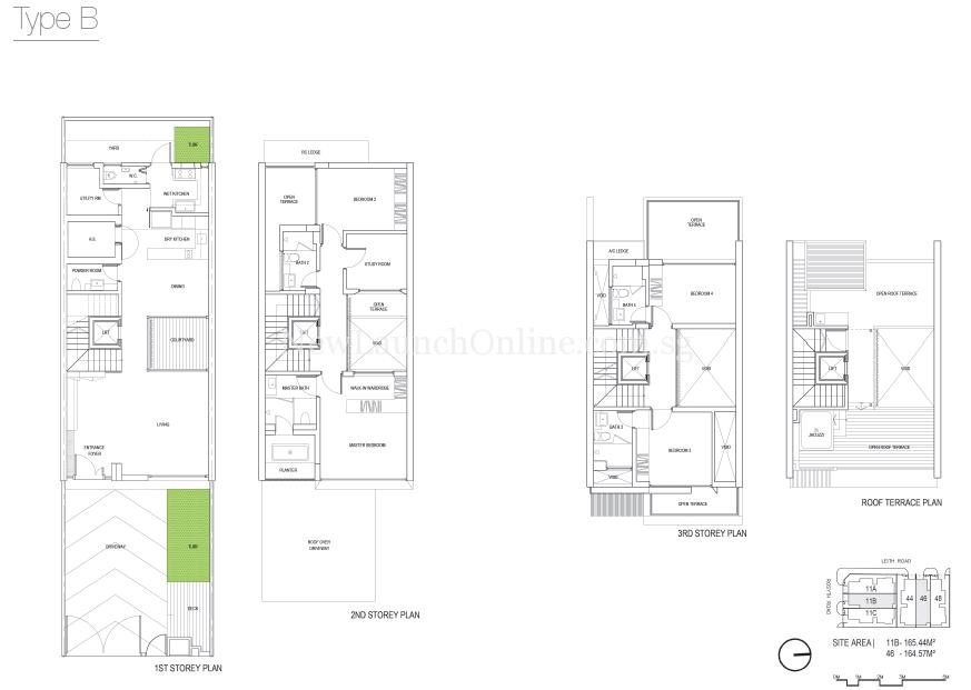 The Rosyth Collection Floor Plan-Type B