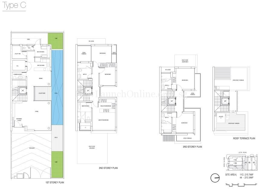 The Rosyth Collection Floor Plan-Type C