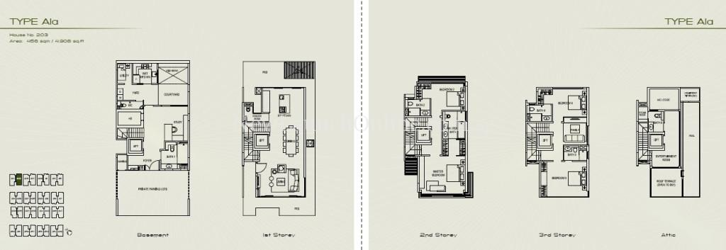 Palms at Sixth Avenue Floor Plan - Type A1a