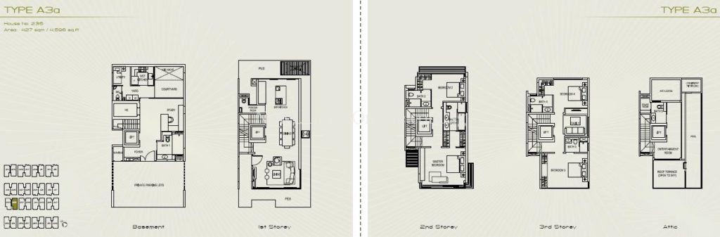 Palms at Sixth Avenue Floor Plan - Type A3a