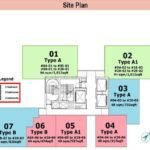 6 Derbyshire Site Plan with sizes