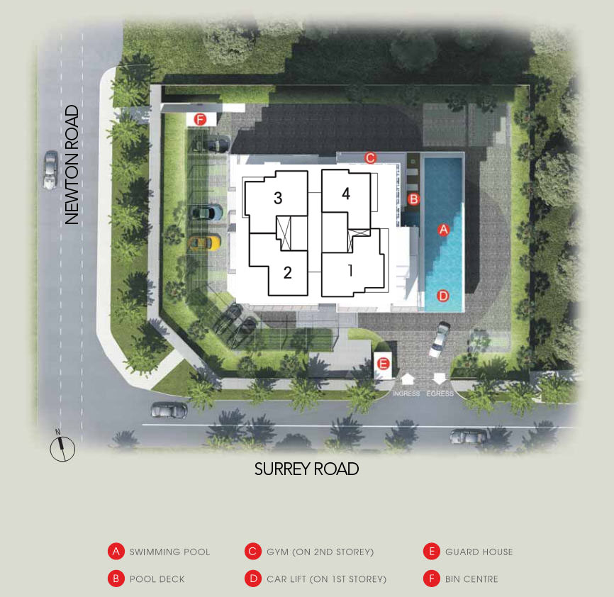 Suites at Newton Site Plan