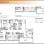 The Skywoods Floor Plan Type 4-C1-C