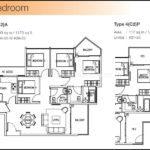 The Skywoods Floor Plan Type 4-C2-A