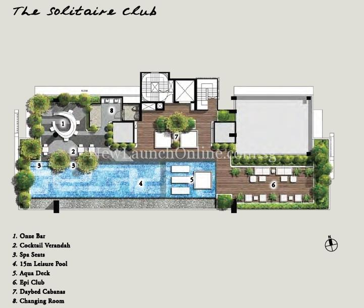 Onze @ Tanjong Pagar Site Plan (The Solitaire Club)
