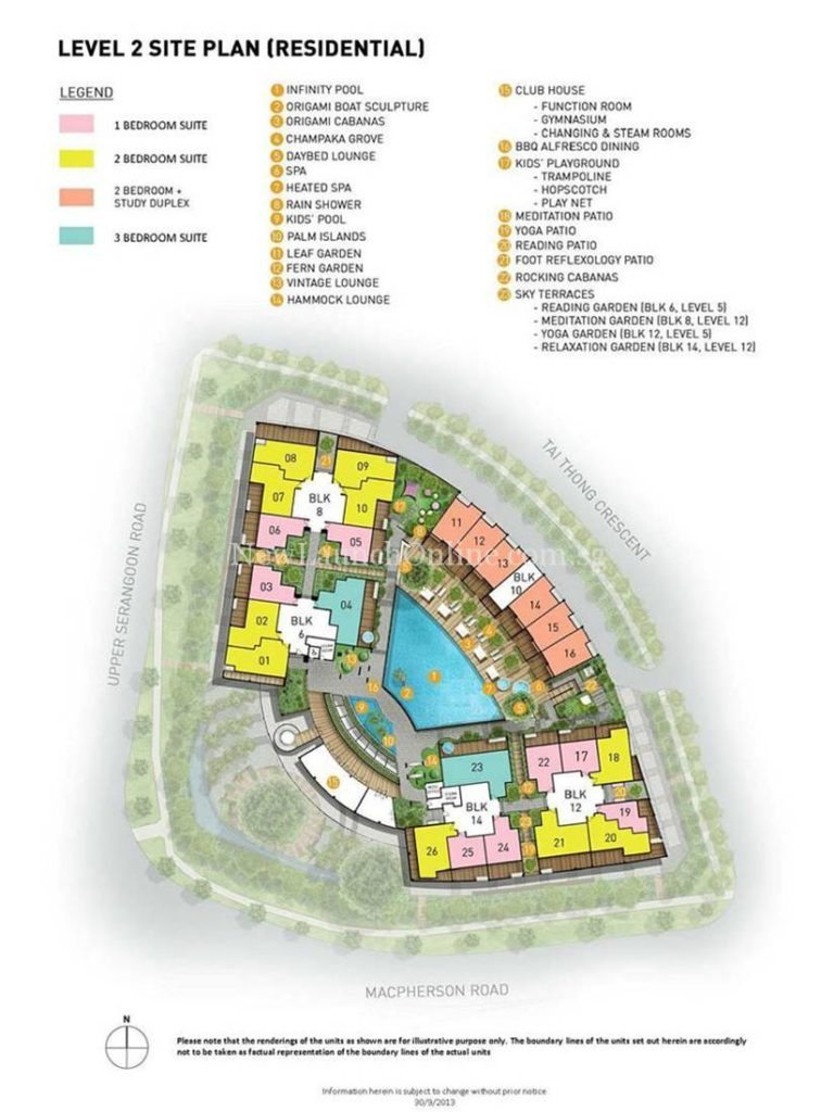 The Venue Residences Site Plan