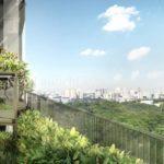 Alex Residences 4th floor sky terrace