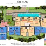 Hills TwoOne Site Plan with Size