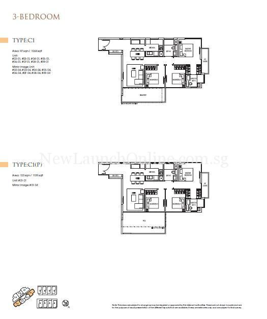 Goodwood Grand Floor Plan 3 Bedroom