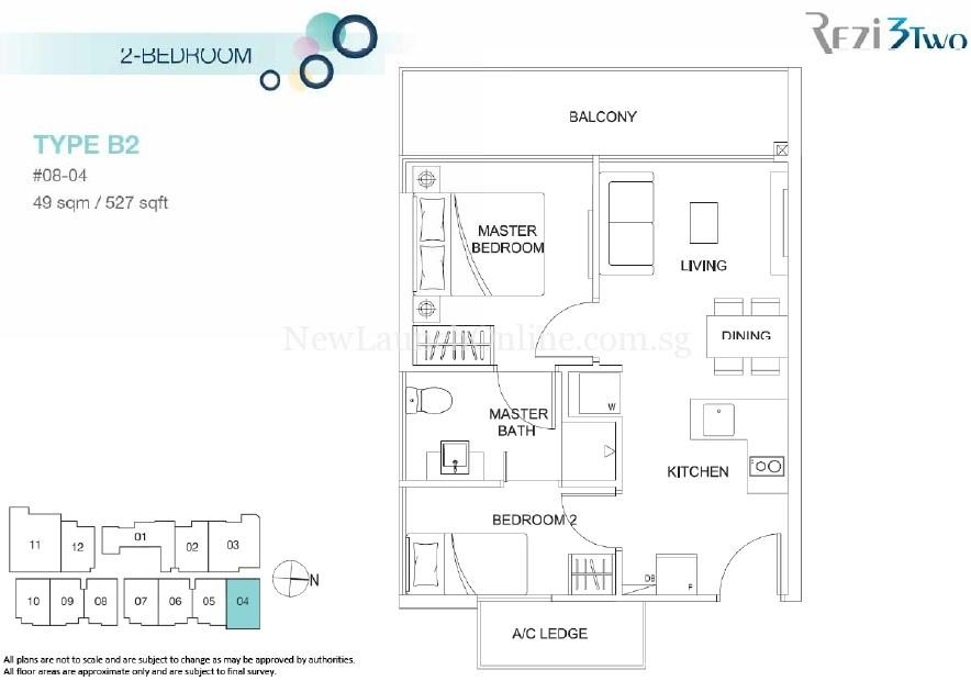 Rezi 3Two Amenities