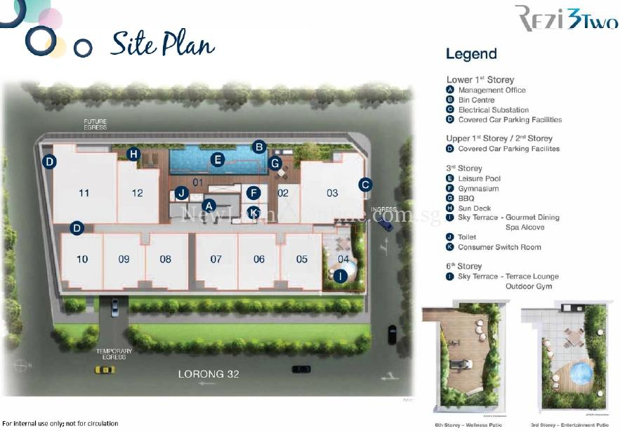 Rezi 3Two Site Plan