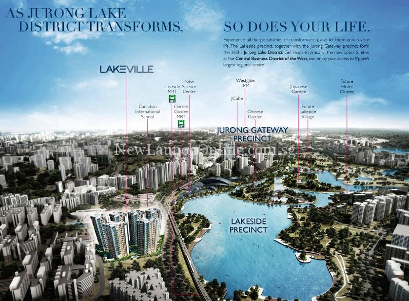 Lakeville - Jurong Lake District Transformation