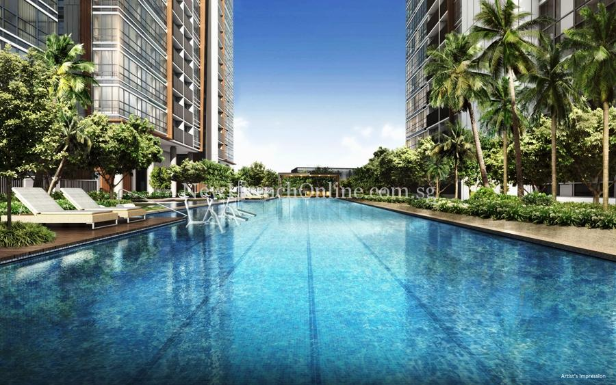 Coco Palms at Pasir Ris Grove 50m lap pool