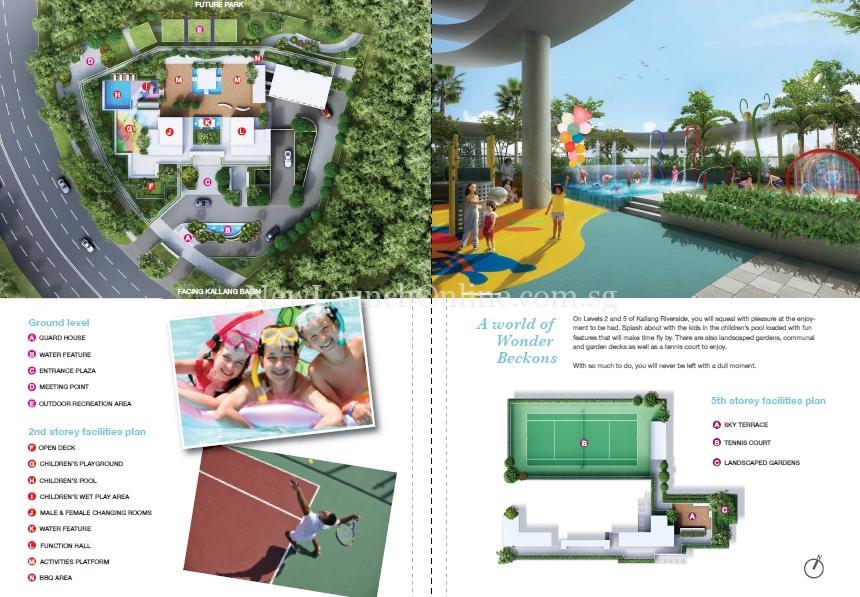 Kallang Riverside 5th Storey Site Plan