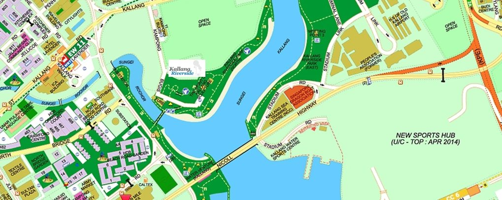 Kallang Riverside Showflat Location